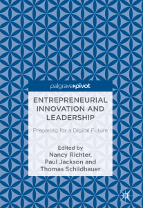 Entrepreneurial Innovation and Leadership_TS