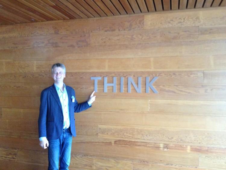 Prof. Dr. Dr. Thomas Schildhauer zu Besuch im IBM Almaden Research Center